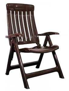 steiner marina klappstuhl gartenstuhl klappbar wetterfest braun. Black Bedroom Furniture Sets. Home Design Ideas