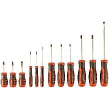 Black&Decker BDHT0-66451 - Juego de 12 destornilladores con punta magnética