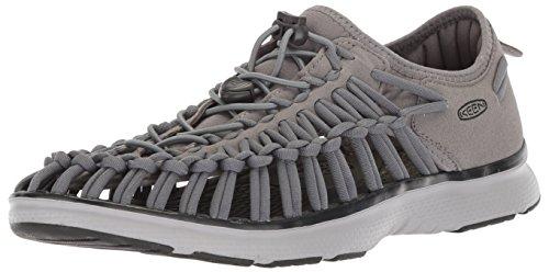 KEEN Uneek O2 Sandals Men Steel Grey/Raven Schuhgröße US 11,5 | EU 45 2018 ()