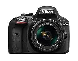 Nikon D3400 24.2 MP Digital SLR Camera (Black) with AF-P DX NIKKOR 18-55mm f/3.5-5.6G VR Lens Kit with 8 GB Card and Camera Bag