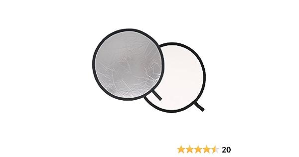 Lastolite Ll Lr3031 Rundreflektor 76 Cm Silber Weiß Kamera