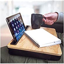 Red 5 Laptop Lap Desk Tray with Tablet Slot