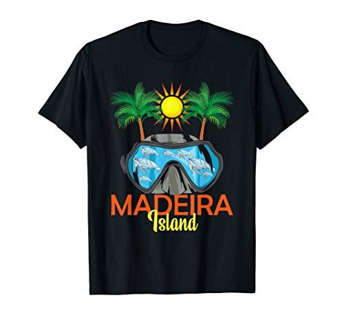 Madeira Portugal Urlaub T-Shirt