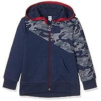 PANÇO Erkek Çocuk Puzzle 19203057 Fermuarlı Sweatshirt