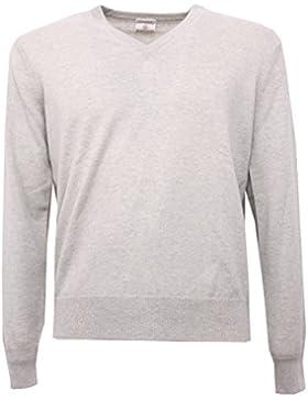 B5318 maglione uomo KANGRA grigio melange sweater men [48]
