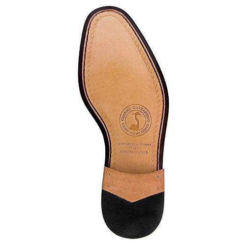 Scarpe con Rialzo da Uomo Che Aumentano l'Altezza Fino a 7 cm. Fabbricate in Pelle. Modello Boston Nero