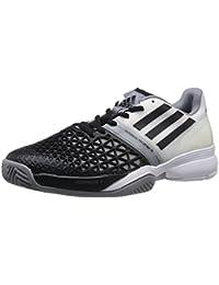 size 40 6ddbf 74dd7 Adidas - CC Adizero Feather III Herren Tennisschuh (schwarzweiß) - EU 46