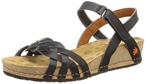 The Art Company 0735 0735 Mojave Pompei - sandali con plateau Donna, Nero (Black), 38 EU