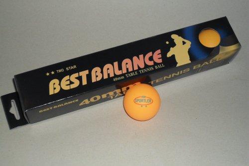 12 Stück TT-Bälle ** Tischtennisbälle im Karton orange