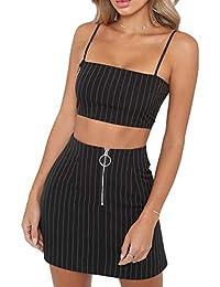 Amazon.es: conjunto falda top mujer - Últimos tres meses / Mujer: Ropa