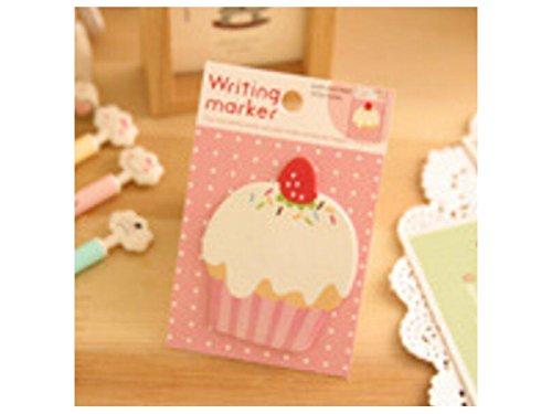 OVVO Simple Gâteau Note collante pour la classification ou la note de message (coloré) OVVO