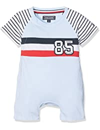 Tommy Hilfiger Badge Colorblock Shortall S/S, Body Para Bebés