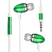Asus ZenPad 7.0 Z370CG Earphone Auricular Bullet estéreo en línea sin manos Auricular con auriculares con micrófono y aislamiento de ruido ( Green )