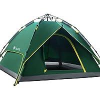 HILLMAN Tente pliante, 2-3 personnes font apparaître instantanément des tentes de camping familiales, 4 saisons, des lits doubles , un sac fourre-tout