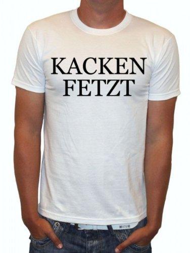 Kacken Fetzt Fun Witzig Spruch Sprüche T Shirt Textilien