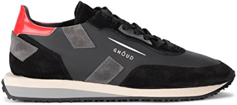 Sneaker Ghoud Rush in Pelle e Suede nera e Grigia
