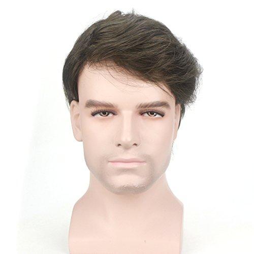 Lordhair Transparentes Austauschsystem für menschliches Haar, dünne Haut - Perücke Axel