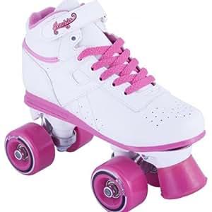 Rookie Odyssey Child Roller Skates - White/Pink