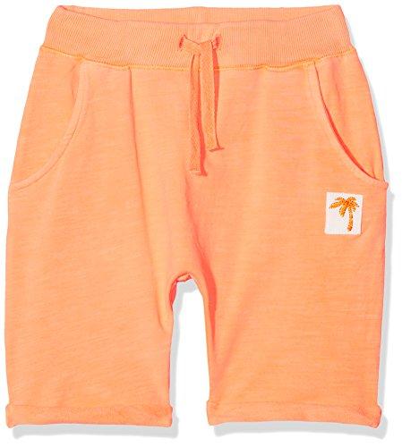 NAME IT Baby-Jungen Nmmdeston Swe Long Shorts Unb, Orange (Shocking Orange), 104