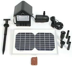 Kit pompe solaire avec télécommande avec LED - 800LPH