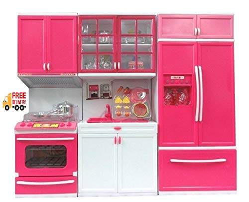 Buy Sp Enterprise Kitchen Set For Kids Girls Toys With Lights And