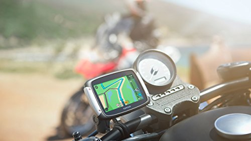 TomTom Rider 40 Motorcycle GPS with Western Europe Maps and Lifetime Map Updates