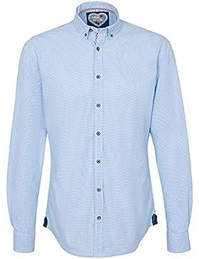 REDMOND Camisa casual 52360119 Edición Wies'n Trajes regionales con botones Hombre