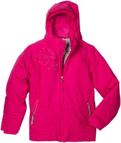 Spyder Girl 's Glam Jacke, Mädchen, hot pink (Spyder Jacke Mädchen Kids)