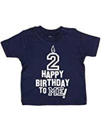 IiE, Happy Birthday tomE! 2 years old, Baby Unisex Boy Girl T-shirt