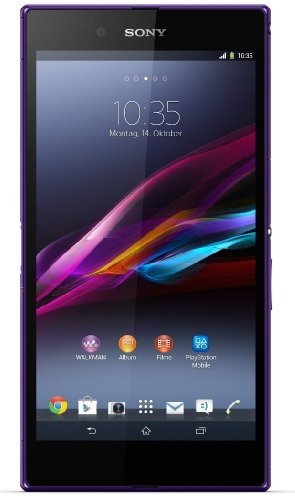 Sony Xperia Z Ultra Smartphone (16,3 cm (6,4 Zoll) Full-HD-TRILUMINOS-Display mit X-Reality, 8 Megapixel Kamera, 2,2GHz, Quad-Core, Snapdragon 800, 2GB RAM, IP55/IP58-Zertifizierung, Android 4.2) lila