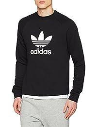 Adidas Trefoil Crew, Sweat àCapuche Homme