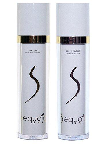 Sequoia Skin Lux Day & Bella Night - Tages- und Nachtcreme mit Sequoia Extrakt im Set (2 x 50 ml)