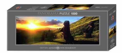 Imagen 3 de Heye Panorama Puzzle Easter Island 1000 Teile (KV&H Verlag)