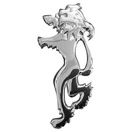 """Tartan City Broche Escocés Para Kilt León Rampante Acabado Cromado 4""""/león rampante Pines Para Kilt Metal/Highland Pines para kilt"""