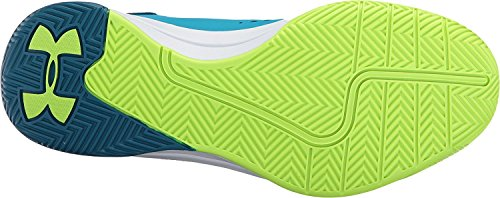 Under Armour Girls' Grade School Jet 2017 Blue Shift/Bayou Blue/Quirky Lime