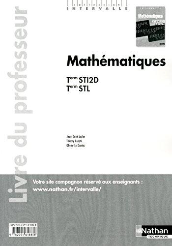 Mathématiques - Terminales STI2D-STL