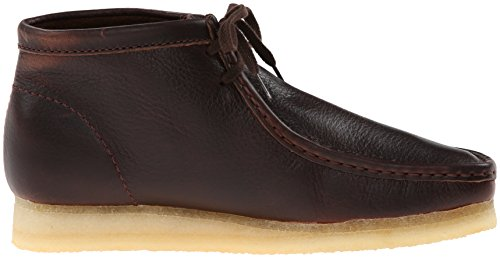 Clarks Originals Wallabee Boot Brown Leather