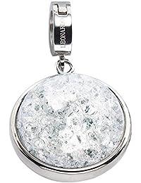 Leonardo Jewels Damen Anhänger Darlin's Edelstahl silber klein Maxi-Clip