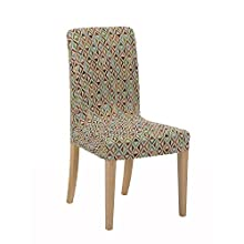 Martina Home Kilim Pack Chair Covers with Backrest, Fabric, Multi-Colour, 24 x 30 x 6 cm, Pack of 2