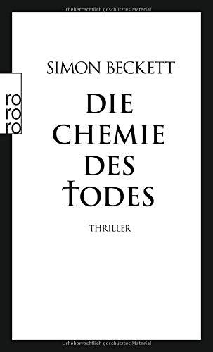 Buchcover Die Chemie des Todes: David Hunters 1. Fall