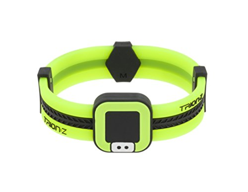 48f201456e Trion:Z Acti-Loop Magnetic Therapy Bracelet Lime Green - S