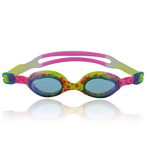 #DoYourSwimming, Occhialini Da Nuoto Per Bambini, Giallo/Rosa