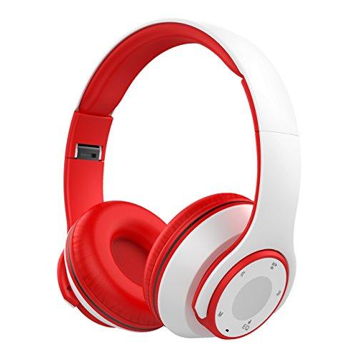 Auriculares Bluetooth Diadema Plegable con Función 4 en 1 FM Radio