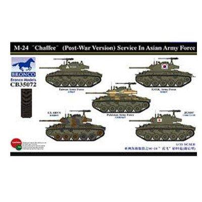 Unbekannt Bronco Models cb35072 - Modélisme Jeu de M DE 24 Chaffee, la Poste était Version Service dans Asia Army Force