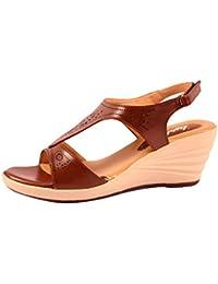 Lush Women's Heel Wedges Trendy Premium Design Party Wear Girls Heel Wedges - B076388SH1