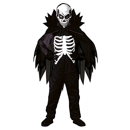 (Halloween Scary Skeleton Kostümgr.Gr. S(128 cm))