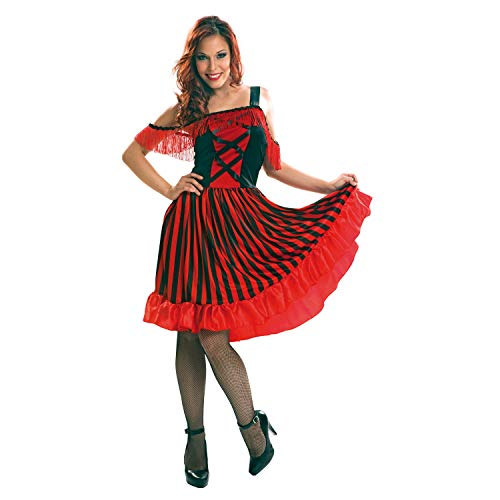 Kostüm Cancan - My Other Me Damen Kostüm Can-Can (viving Costumes) M-L