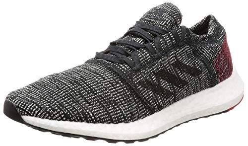 adidas Pureboost Element, Zapatillas de Running para Hombre, Negro Core Black/Scarlet, 45 1/3 EU