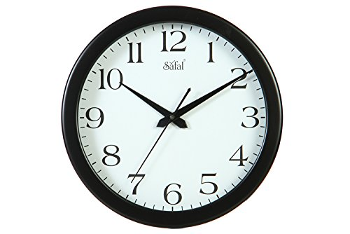 Safal Full Figured Round Beauty Wooden Wall Clock