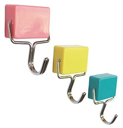 Regal Kühlschrank Magnetic (aomag®-Magnetischer Haken Kühlschrank Coat Room Tür Magnet Haken Aufhängen Handtuch Decor Kleiderbügel (3Pack))